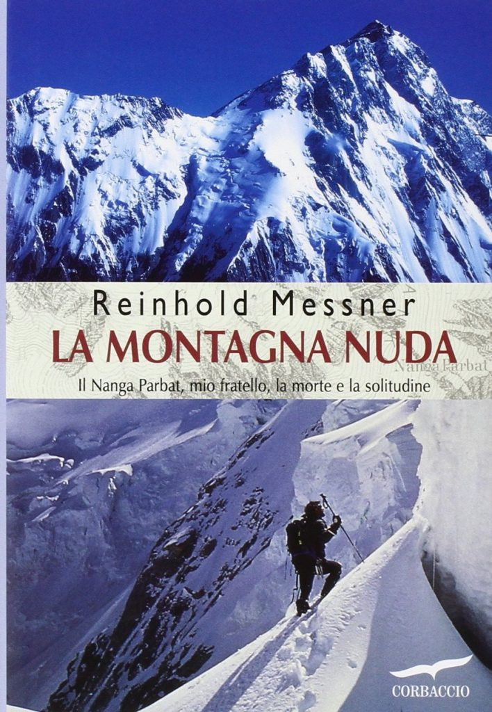 Copertina Montagna nuda Messner